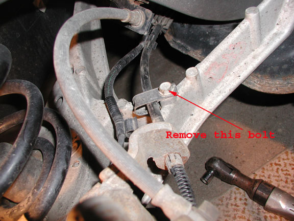 Buick Rear Bolt on 2003 Buick Lesabre Water Pump